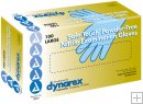 Dynarex SafeTouch Nitrile Exam Gloves, Non Latex, Powder Free