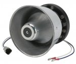 Code 3 100w Class A Chrome Motorcycle Speaker - MC7001