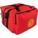 "MedSource Step In Fire Bag - Red 18"" x 18"" x 24"""